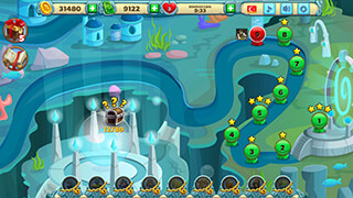 Solitaire Atlantis скриншот 4