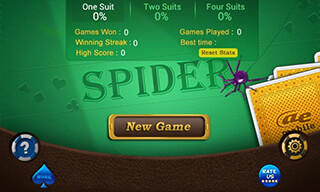 Spider Solitaire скриншот 1