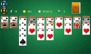 Spider Solitaire скриншот 3