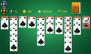 Spider Solitaire скриншот 4