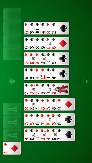 Freecell Solitaire скриншот 2
