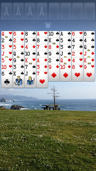 Freecell Solitaire скриншот 3