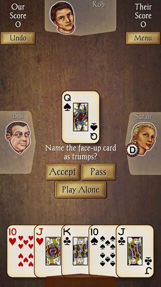 Euchre: Free скриншот 3