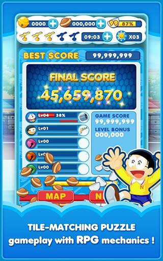 Doraemon: Gadget Rush скриншот 3