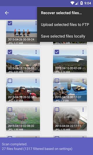 DiskDigger Photo Recovery скриншот 3