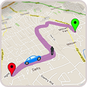GPS Route Finder: GPS Maps Navigation and Directions иконка