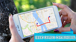 GPS Route Finder: GPS Maps Navigation and Directions скриншот 4