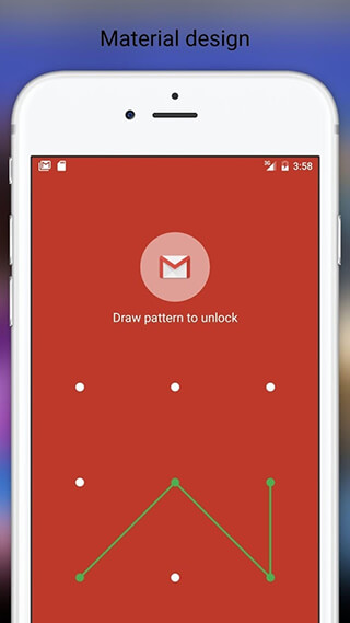 Fingerprint Pattern App Lock скриншот 1