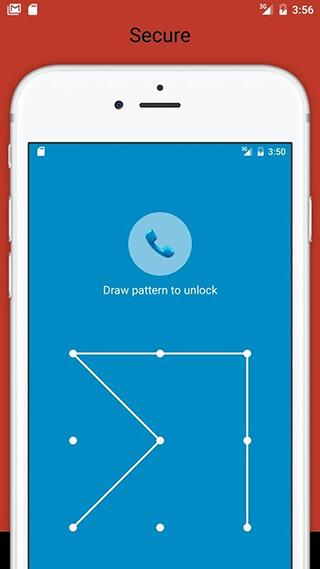 Fingerprint Pattern App Lock скриншот 3