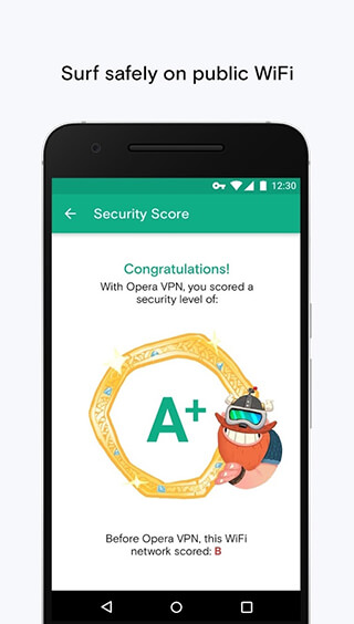 Opera Free VPN: Unlimited VPN скриншот 4