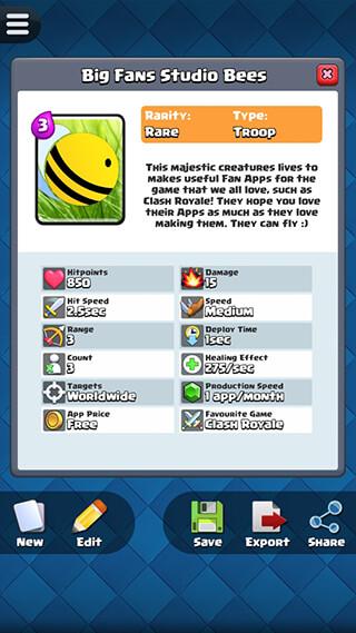 Card Creator for CR скриншот 1