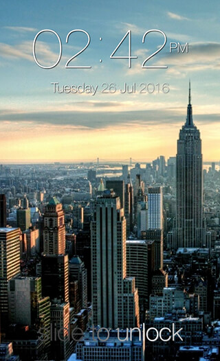 Keypad Lock Screen скриншот 1