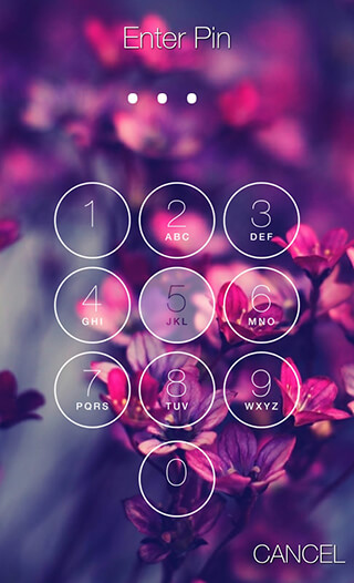 Keypad Lock Screen скриншот 2