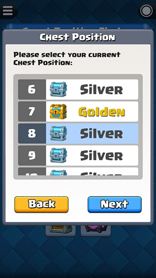 Chest Tracker for Clash Royale скриншот 3