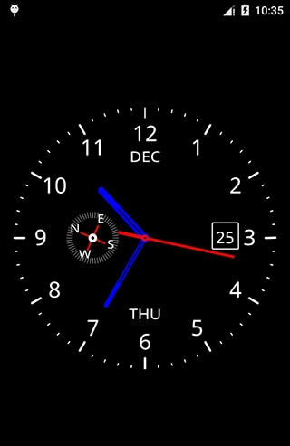 Clock Live Wallpaper скриншот 1
