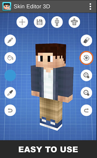 Skin Editor 3D for Minecraft скриншот 1