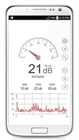 Sound Meter скриншот 1