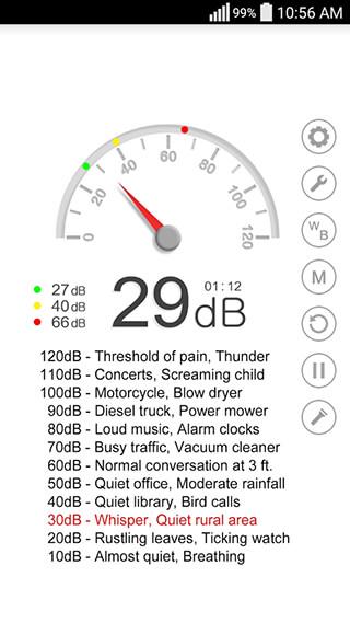 Sound Meter скриншот 3