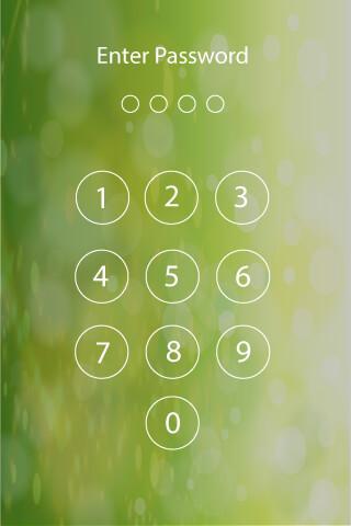 Lock Screen Password скриншот 1