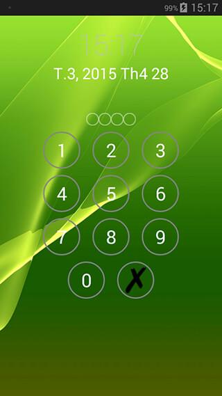 Lock Screen Password скриншот 4
