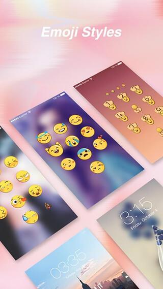 AppLock and Emoji Lock Screen скриншот 3