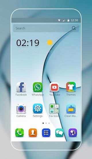 Theme for Samsung S7 edge скриншот 1