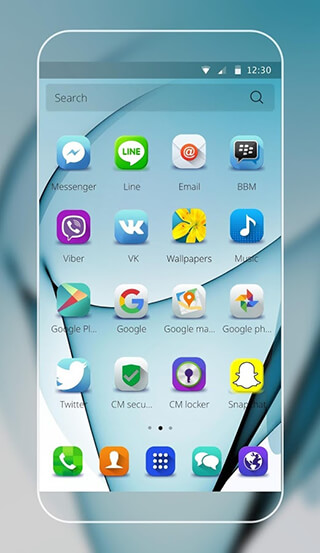 Theme for Samsung S7 edge скриншот 2
