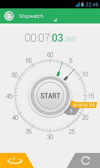 Stopwatch Timer скриншот 2