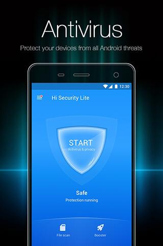 Hi Security Lite: Antivirus, Booster and AppLock скриншот 2
