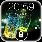 Fireflies Lockscreen иконка