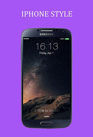 lphone Screen Lock скриншот 3