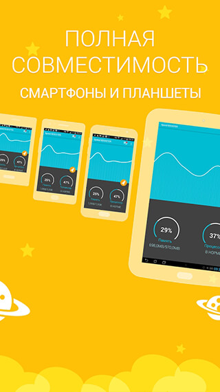 Speed BOOSTER: Memory Cleaner and CPU Task Manager скриншот 2