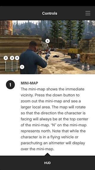 Grand Theft Auto V: The Manual скриншот 1