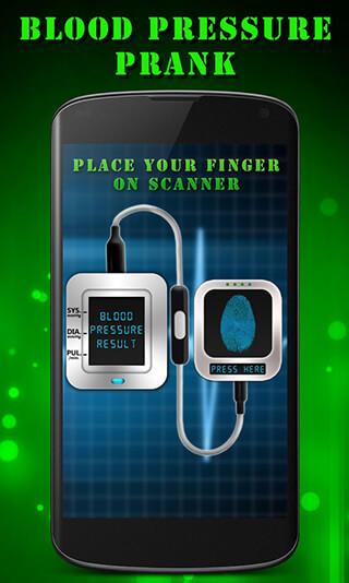 Finger Blood Pressure Prank скриншот 2