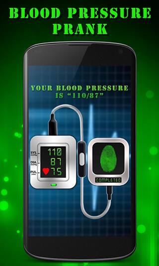 Finger Blood Pressure Prank скриншот 4