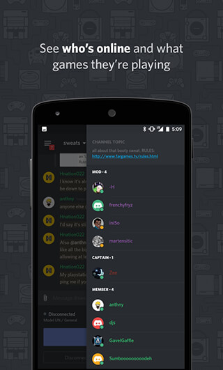 Discord: Chat for Gamers скриншот 4