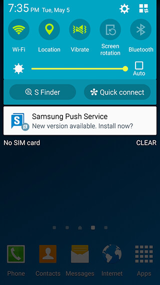 Samsung Push Service скриншот 2
