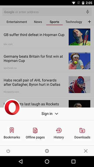 Opera Browser: Latest News скриншот 2