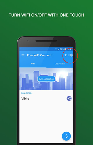 Free WiFi Connect скриншот 1
