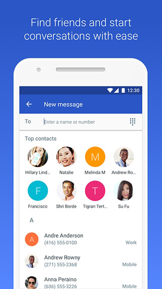 Android Messages скриншот 2