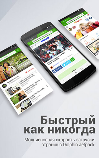 Dolphin Browser: Fast, Private and Adblock скриншот 4