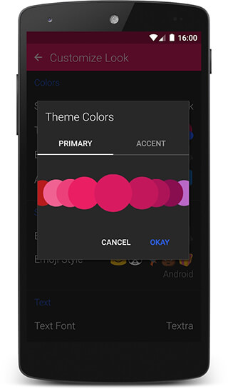 Textra SMS скриншот 1
