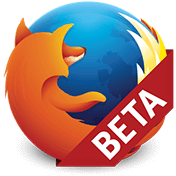 Firefox for Android Beta иконка
