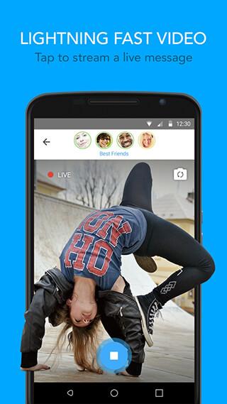 Glide: Video Chat Messenger скриншот 1