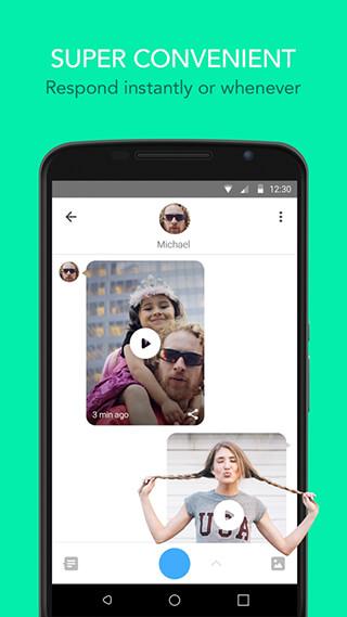Glide: Video Chat Messenger скриншот 2