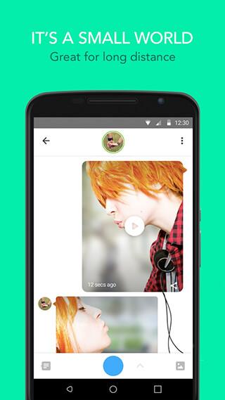 Glide: Video Chat Messenger скриншот 4