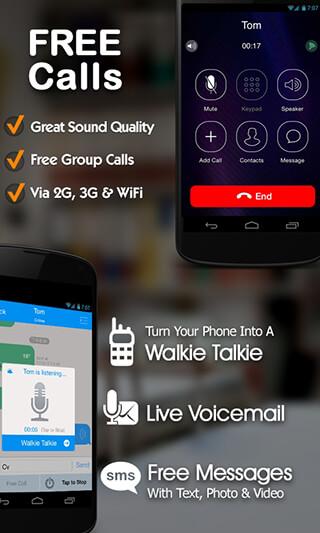 TalkU Free Calls + Free Texting + International Call скриншот 1
