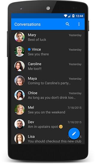chomp SMS скриншот 3