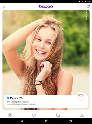 Badoo: Free Chat and Dating App скриншот 1
