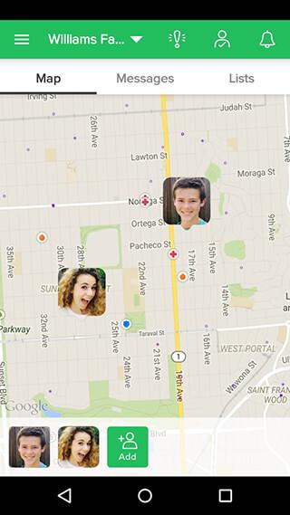 GPS Phone Tracker скриншот 2